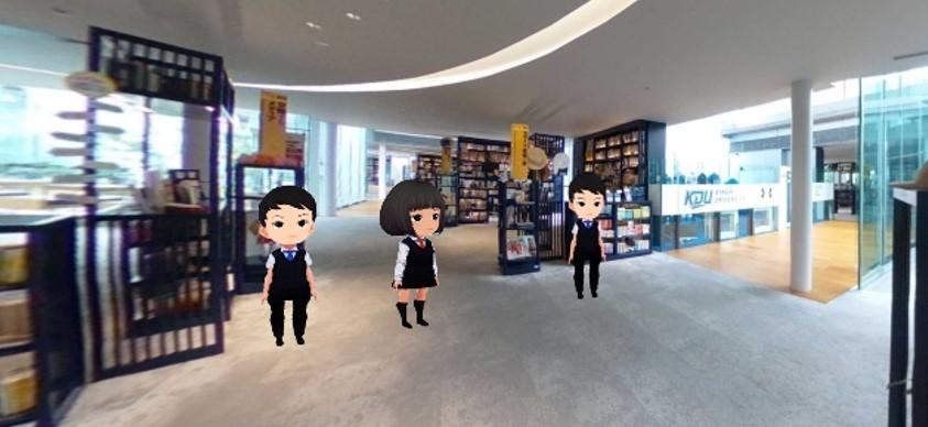 コロナ禍における新しいオンライン授業を提案 VR空間を用いた授業コンテンツをオープンキャンパスで公開