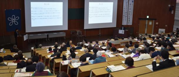 第13回近畿大学病院がんセンター市民公開講座 「がんゲノム医療を知っていますか?」 「ACP~人生会議~を知っていますか?」
