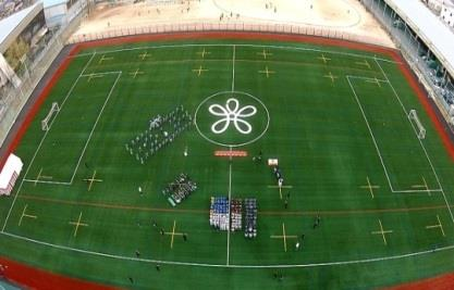 全生徒所持のiPadを活用した体育祭を開催 リレーではiPadの動画撮影で、手に汗握るゴール判定も 近畿大学附属高等学校