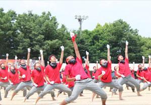 福山地区で最大規模の体育祭開催 総勢約1,100人参加 近畿大学附属広島高等学校・中学校福山校