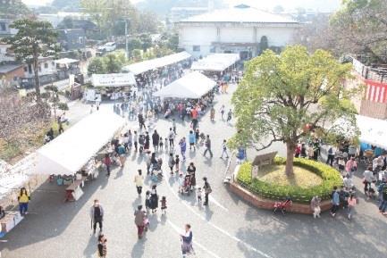 九州短大大学祭「第51回梅華祭」開催 「第39回まつり菰田」と同日開催で地域活性化に貢献