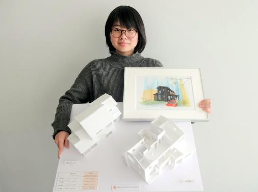 「伊賀優良住宅学生設計コンペ」で優秀賞受賞 学生の設計案をもとに中古住宅をリノベーション