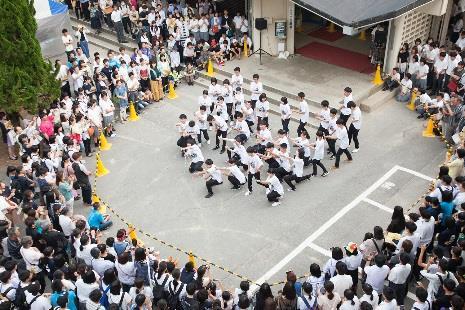 近大附属豊岡高等学校・中学校 文化祭「近梅祭」を開催 ユニセフ募金やコウノトリ野生復帰支援の募金活動も実施