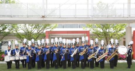 吹奏楽部・陸上競技部が飯塚市長を表敬訪問 全国大会出場を前に福岡県代表の意気込みを報告