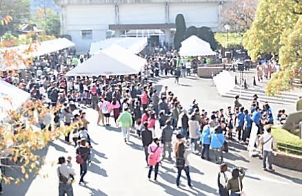大学祭「第52回梅華祭」開催 「第40回まつり菰田」と合同開催で地域と連携