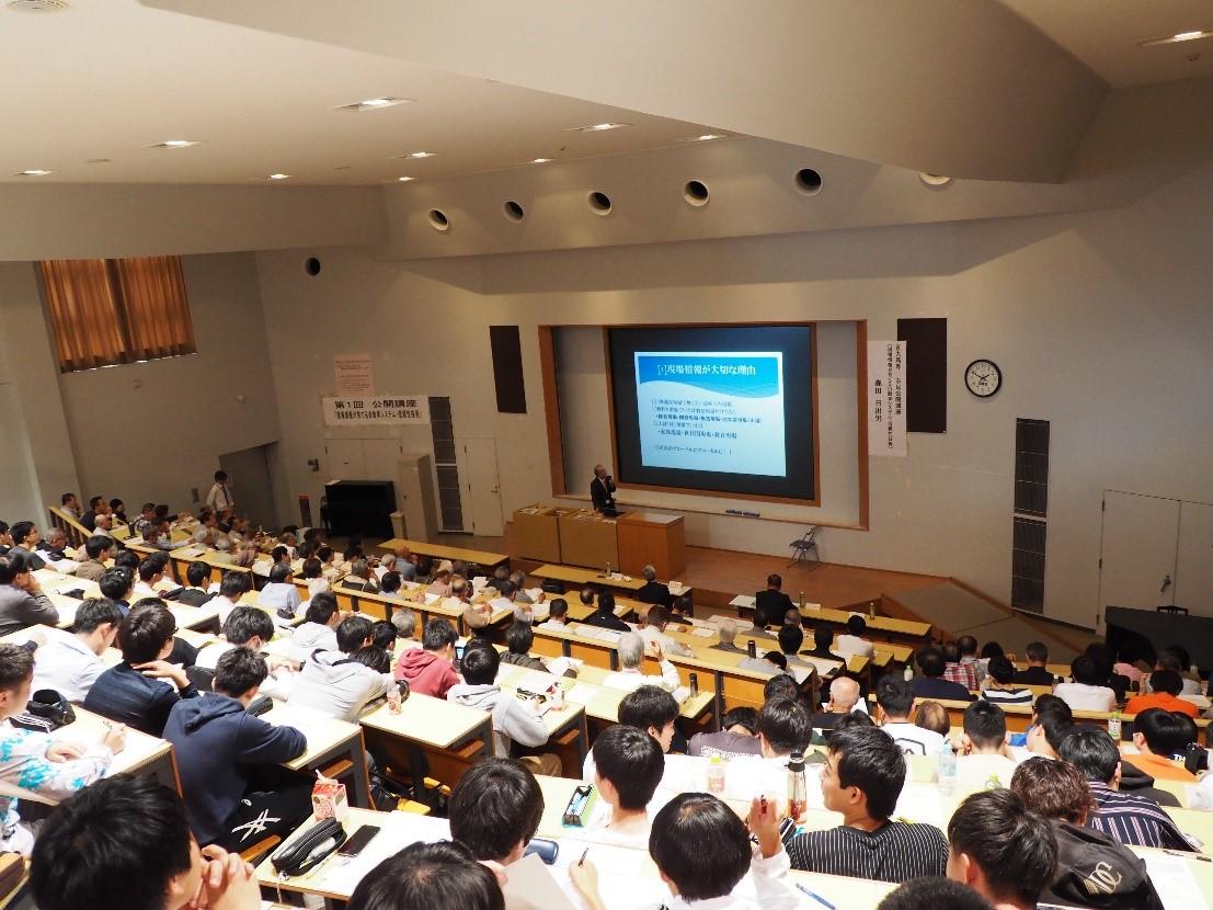 近大高専 第2回市民公開講座「救急医療の現状について~皆様にできること~」