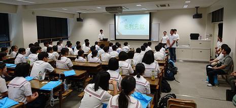 令和元年度「総合オープンスクール」開催 教科別イベント・看護体験も実施