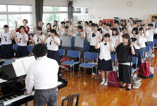 「第3回オープンキャンパス」を開催 声楽授業、ビジネスマナーや介護体験などを実施