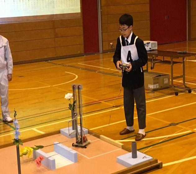 全日本小中学生ロボット選手権決勝大会出場 2年連続出場、初優勝を目指す