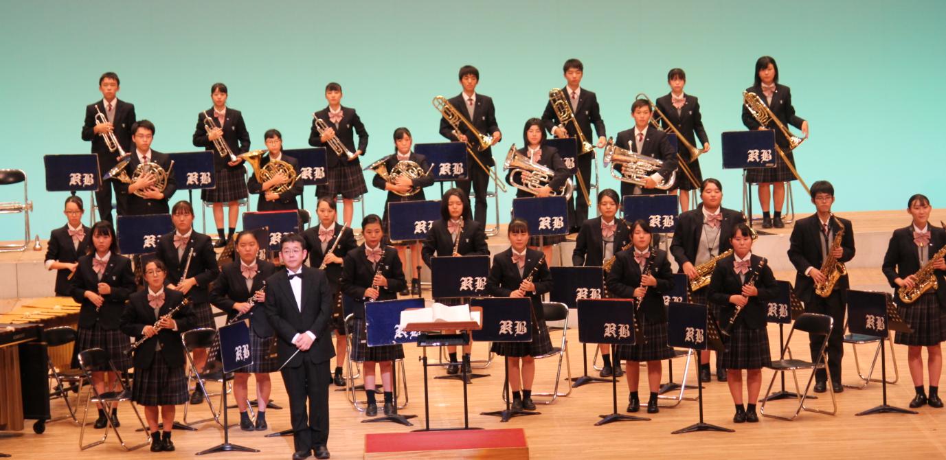 新型コロナウイルス感染症対策を講じ高校3年生の最後の舞台「第36回吹奏楽部定期演奏会」を開催