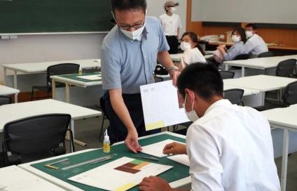 令和3年度 第1回オープンキャンパス開催 体験イベント「建築士を目指そう!建築模型作り体験」などを実施