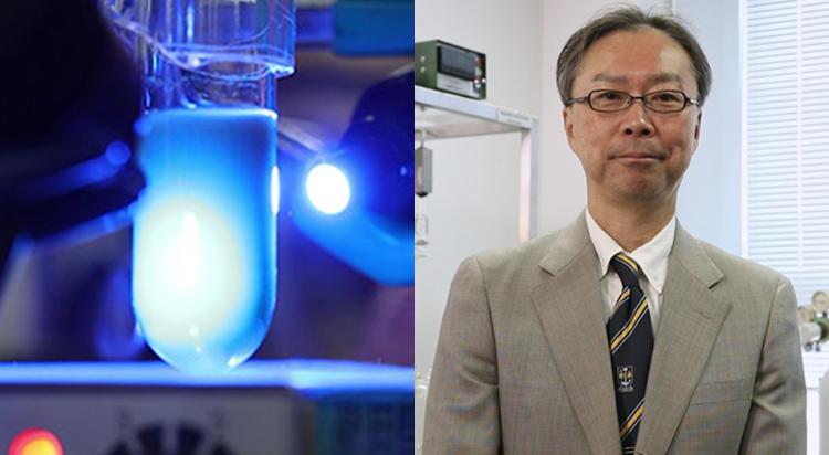 究極は太陽の光だけで操業する「太陽光化学工場」。光触媒で世界一を目指す。