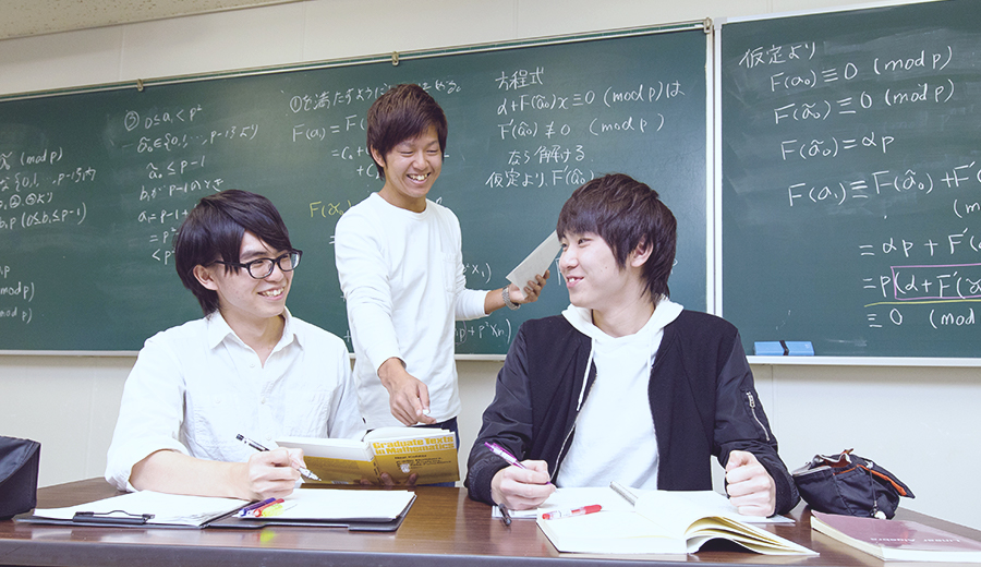 Mathematics Course, Department of Science (a.k.a. Department of Mathematics)